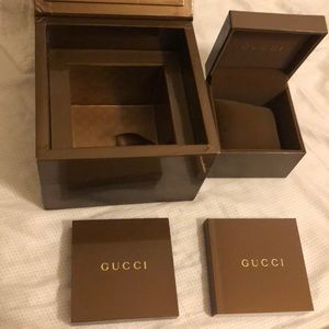 Gucci watch box